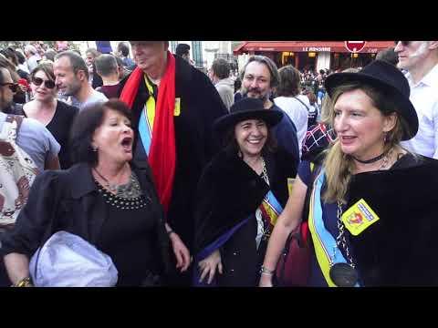 Bal des Vendanges Dalida. Paris/France - 15 Octobre 2017