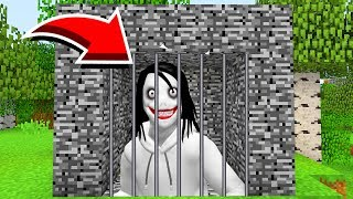 Minecraft : We TRAPPED JEFF THE KILLER(Ps3/Xbox360/PS4/XboxOne/PE/MCPE)