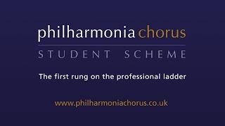 Philharmonia Chorus Student Scheme