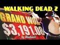 ★grand Jackpot Sighting★ The Walking Dead 2 Slot Machine Big Bonus Wins! video