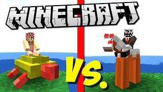 ДЕВОЧКИ ПРОТИВ АРМИИ ГЛИНЯНЫХ ТРОЛЛЕЙ (Epic Clay Soldiers Battle) Minecraft #4