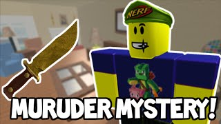 ROBLOX - MURDER MYSTERY 2 - OMG JUMP SCARES! (Xbox One)