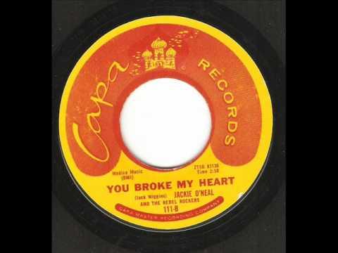 Jackie O'neal - You Broke My Heart ( Great Rock 'n' Roll Tune) - YouTube
