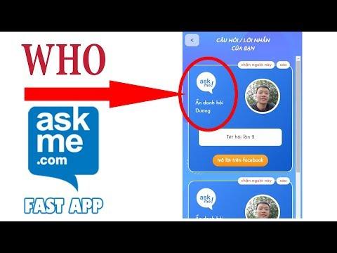 Hướng dẫn tìm ra người gửi câu hỏi ẩn danh ASK ME