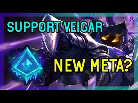 NEW META? SEASON 9 VEIGAR SUPPORT - DIAMOND - LEAGUE OF LEGENDS