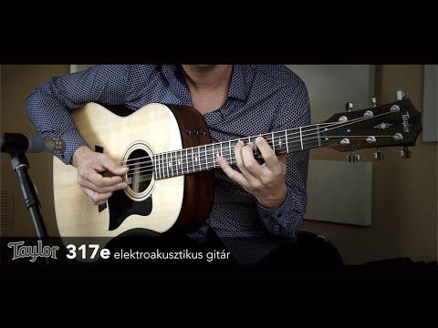 taylor-317e-elektroakusztikus-gitár