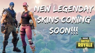 *NEW* LEGENDARY SKINS COMING SOON [WARPAINT & ROSE TEAM LEADER] (Fortnite Battle Royale)
