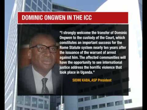 ICC speaks out on Ongwen trial