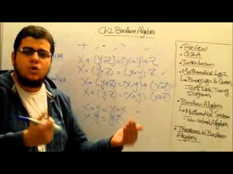 Ch2 -  Boolean algebra and logic gates