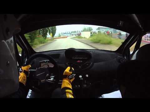 Renault TWINGO R2 EVO ,Rallye du Limousin , ES.7 Ville de Limoges . L.Seminara - JL Hottelet