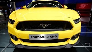 L.A. Auto Show: This is the New 2015 Ford Mustang GT350