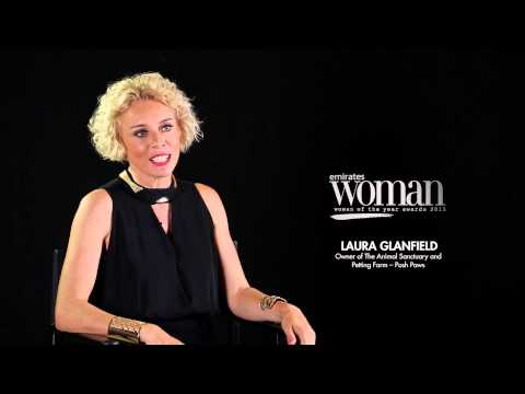 Emirates Woman Woman Of The Year Awards 2015, Humanitarians Nominee — LAURA GLANFIELD