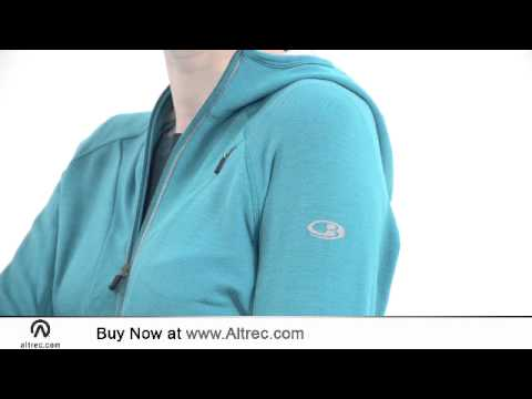 70a8ff8da5 Icebreaker Women's Quantum Hood - YouTube
