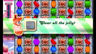 Candy Crush Saga Level 1497 walkthrough (no boosters)