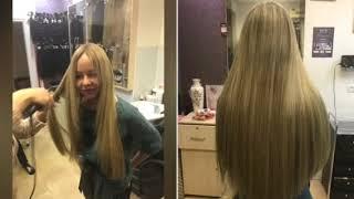 Микро наращивание волос Киев. Работа мастеров салона красоты Beauty hair.