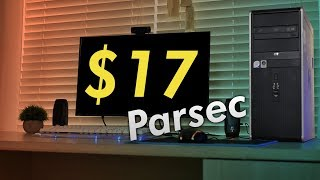 Gaming On A $17 Office PC with Parsec! | OzTalksHW