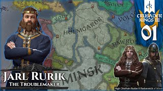 [1] Crusader Kings III Roleplay - The Lands of the Rus (Rurik - Vikings of the East)