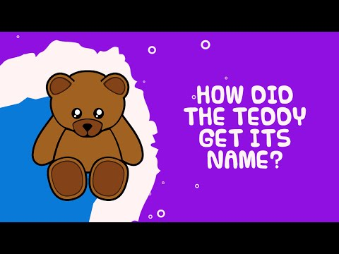 How Did The Teddy Bear Get Its Name ? | Amazing Facts For Kids | Kids Video Show