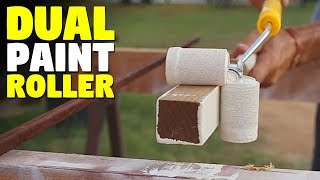 Roll-All | Dual Paint Roller | Best Edge Painting Tool
