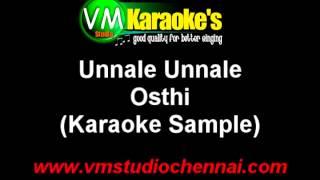 Osthi Karaoke Unnale Unnale