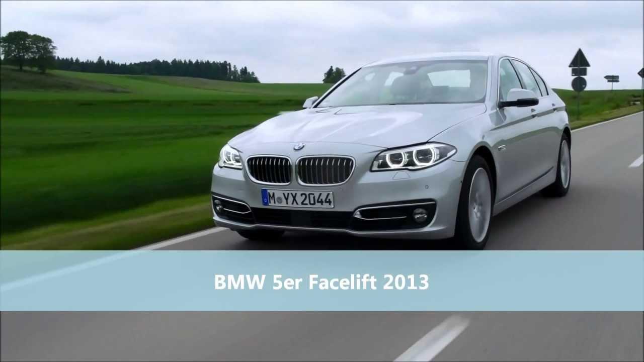 Bmw 5er facelift 2013 f r limousine touring und gt f10 lci ff