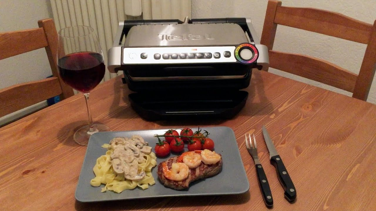 Alaska Elektrogrill Test : Testbericht tefal optigrill youtube