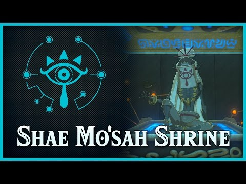 Zelda Breath of the Wild • Shae Mo'sah Shrine • Eldin