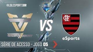 CBLoL 2018: Team One x Flamengo (Jogo 5) | Série de Acesso - 1ª Etapa