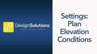 AQ-Design-Lösungen - MEP-Einstellungen