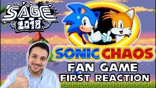 Let's Procrastinate With Sonic Chaos (Fan Made) Reaction & Thoughts