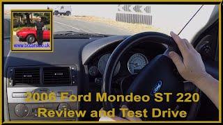 Virtual Test Drive through Rivington in a Ford Mondeo ST 220