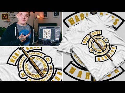 How To Make Advanced T-shirt Designs Free Tutorial thumbnail
