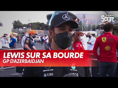 Lewis Hamilton revient sur son énorme raté - GP d'Azerbaïdjan