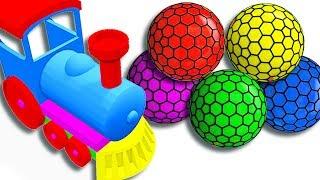 učit se barvy překvapivé hračky pro děti   Learn Colors Surprise Toys Kids