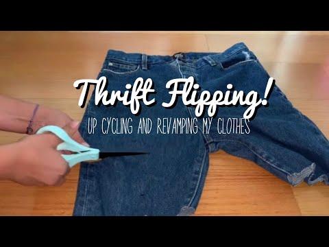 Thrift Flip: DIY Clothing Transformations!