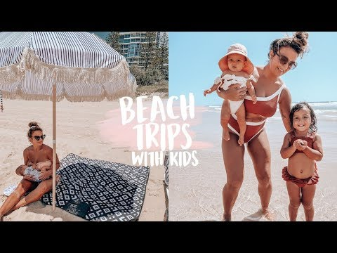 BEACH TRIP VLOG // WHAT WE PACK WITH TWO KIDS