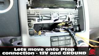 GROM Bluetooth iPhone Android Kit Install Volvo S40 V50 C30 05-12, Car Stereo Removal Guide