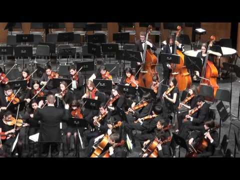 SAMOHI  String & Concert Orchestra play  Le Petite Danseuse from Del Borgo