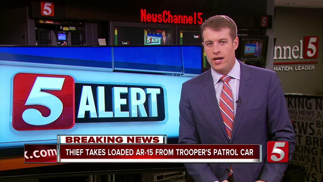 Rifle Stolen From THP Trooper\'s Car In Memphis - YouTube