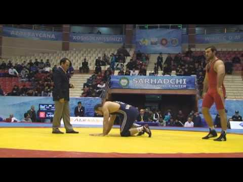 Senior Wrestling Azerbaijan Championship final matches mat B / 15.12.2014