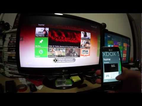 Windows Phone 7 Xbox SmartGlass with IE and Xbox Music