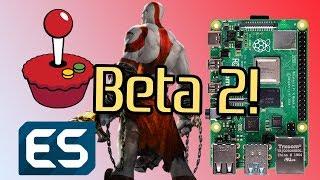 RetroPie Beta 2 for Raspbery Pi 4 (Unofficial)! God of War Running Well!