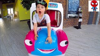 Driving In My Car at Playground Nursery rhymes Songs for Kids Toddlers Babies Super Simple Song