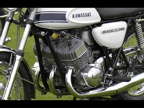 KAWASAKI History, by Discovery channel, 世界のバイク