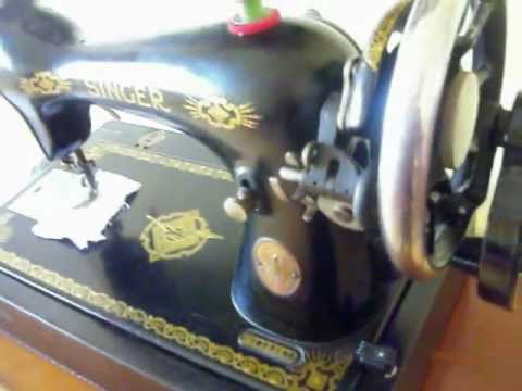 40 Singer 40K40 Hand Crank Sewing Machine FOR SALE YouTube Amazing Hand Crank Sewing Machines For Sale