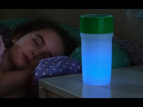 A night light you can drink from.