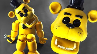 TUTORIAL Custom GOLDEN FREDDY Figure by ROART