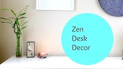 Zen Minimalist Desk Decor