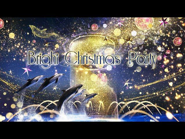 Dolphin Night Show At Maxell Aqua Park Shinagawa. Christmas ver.  【4K】