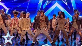 Could ZOMBIES win BGT? The undead storm our stage! | Auditions | BGT 2018